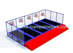 Bsket dunk trampoline