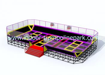 Main court trampoline