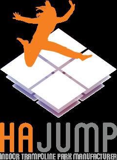 Hajump trampolinepark manufacturer logo