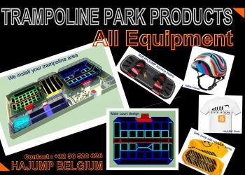 Trampoline park accessories