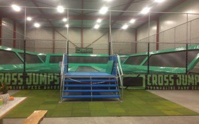 HAJUMP indoor trampoline park Breda: Cross Jumps is open!
