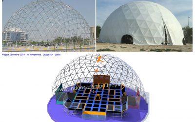 Trampoline Park Dubai, HAJUMP manufacture