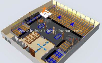Turn-key solutions for your indoor trampoline park.