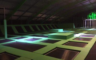 Indoor trampolinepark Level Up – Edegem